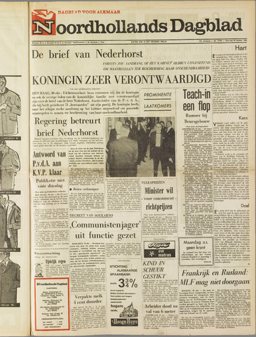 Noordhollands Dagblad : dagblad voor Alkmaar en omgeving 1965-10-30