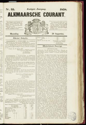 Alkmaarsche Courant 1858-08-30
