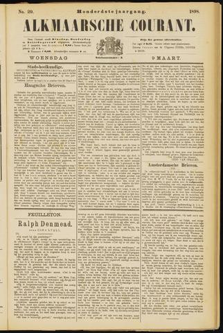 Alkmaarsche Courant 1898-03-09