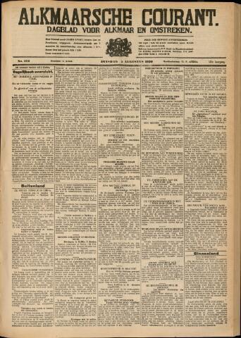 Alkmaarsche Courant 1930-08-05