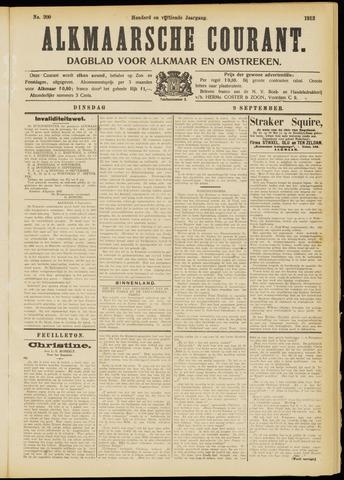 Alkmaarsche Courant 1913-09-09