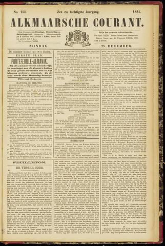 Alkmaarsche Courant 1884-12-28