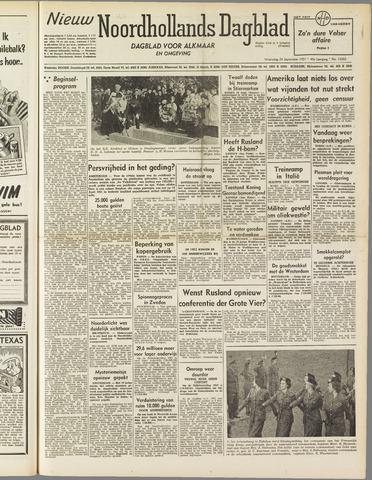 Nieuw Noordhollandsch Dagblad : voor Alkmaar en omgeving 1951-09-26