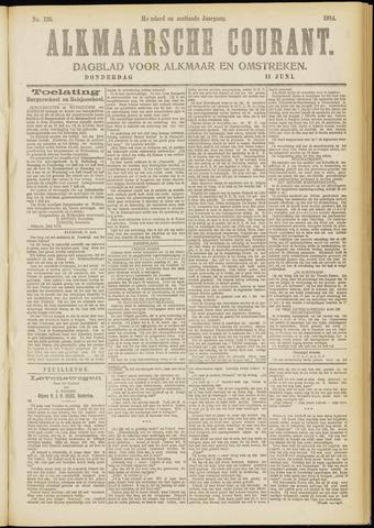 Alkmaarsche Courant 1914-06-11