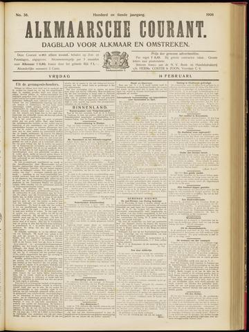 Alkmaarsche Courant 1908-02-14