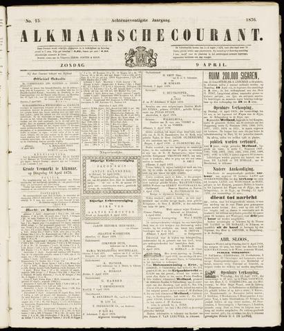 Alkmaarsche Courant 1876-04-09