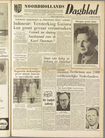 Noordhollands Dagblad : dagblad voor Alkmaar en omgeving 1960-04-29