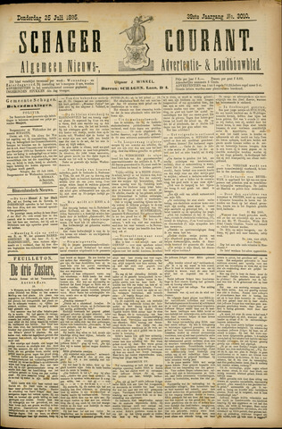 Schager Courant 1895-07-25