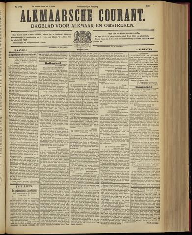 Alkmaarsche Courant 1928-08-06