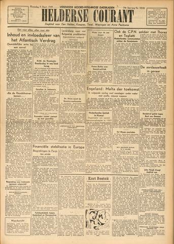 Heldersche Courant 1949-03-09