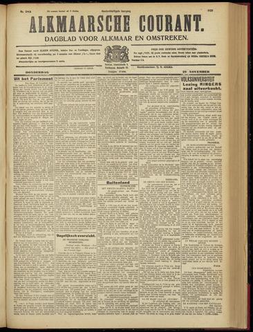 Alkmaarsche Courant 1928-11-29