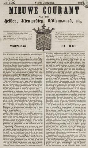 Nieuwe Courant van Den Helder 1864-05-11