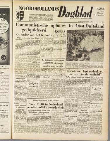 Noordhollands Dagblad : dagblad voor Alkmaar en omgeving 1953-06-11