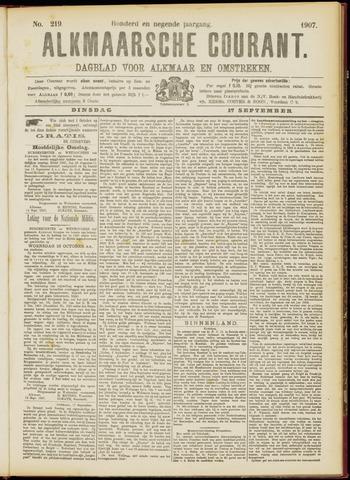 Alkmaarsche Courant 1907-09-17