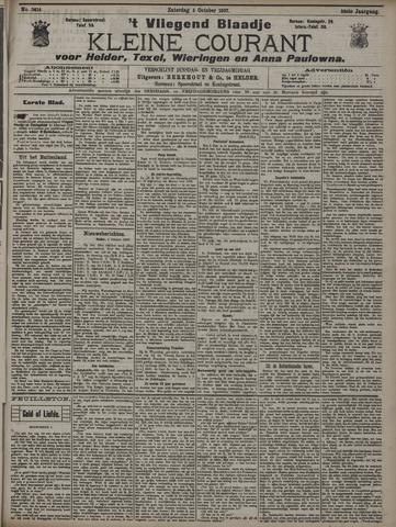 Vliegend blaadje : nieuws- en advertentiebode voor Den Helder 1907-10-05