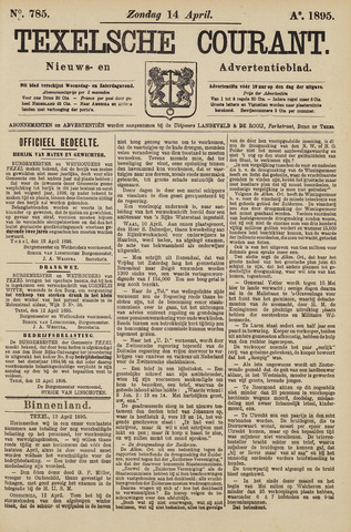 Texelsche Courant 1895-04-14