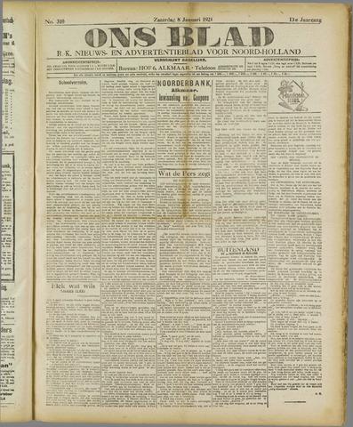Ons Blad : katholiek nieuwsblad voor N-H 1921-01-08
