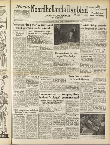 Nieuw Noordhollandsch Dagblad : voor Alkmaar en omgeving 1952-05-27