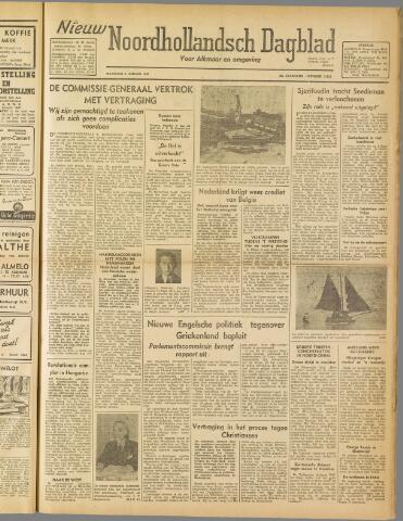 Nieuw Noordhollandsch Dagblad : voor Alkmaar en omgeving 1947-01-06
