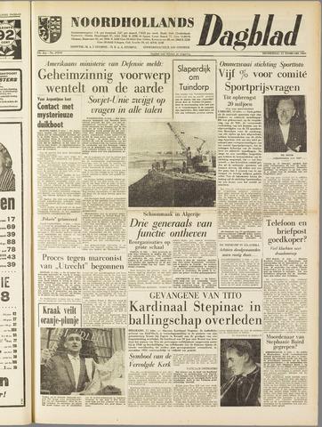Noordhollands Dagblad : dagblad voor Alkmaar en omgeving 1960-02-11