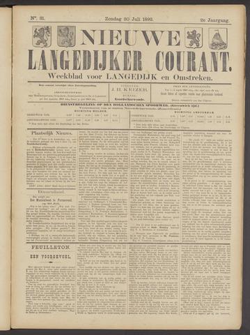 Nieuwe Langedijker Courant 1893-07-30