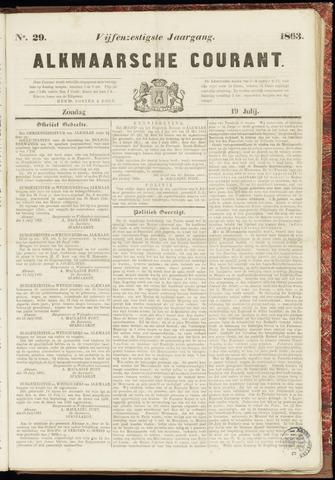 Alkmaarsche Courant 1863-07-19