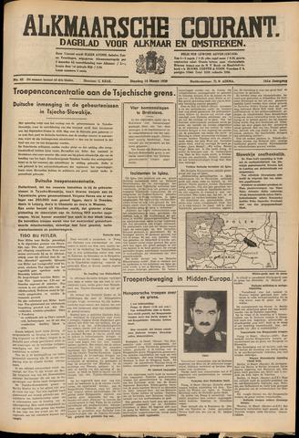 Alkmaarsche Courant 1939-03-14