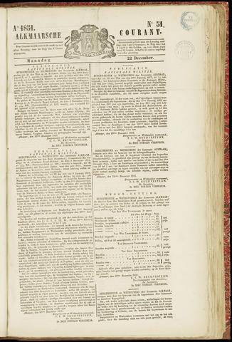 Alkmaarsche Courant 1851-12-22