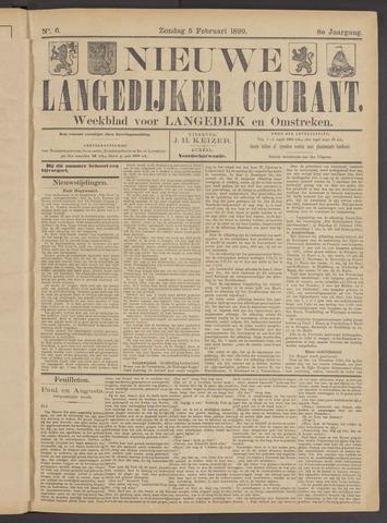 Nieuwe Langedijker Courant 1899-02-05