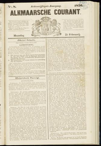 Alkmaarsche Courant 1856-02-25
