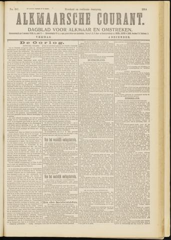 Alkmaarsche Courant 1914-12-04