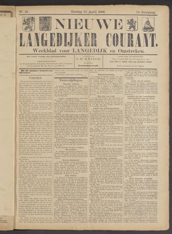 Nieuwe Langedijker Courant 1898-04-10