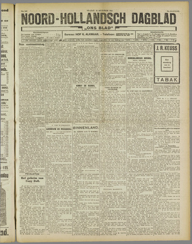 Ons Blad : katholiek nieuwsblad voor N-H 1921-12-16