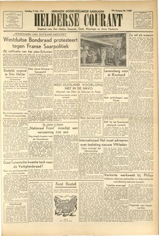 Heldersche Courant 1952-02-02