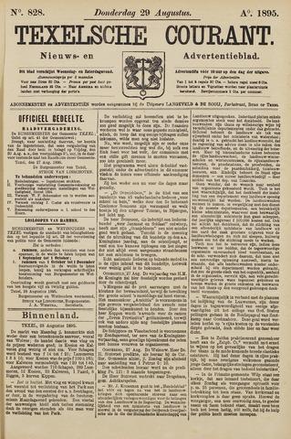 Texelsche Courant 1895-08-29
