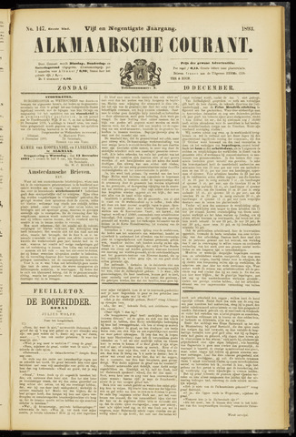 Alkmaarsche Courant 1893-12-10