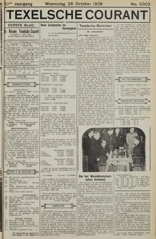 Texelsche Courant 1938-10-26
