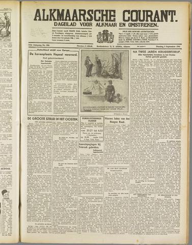 Alkmaarsche Courant 1941-09-02