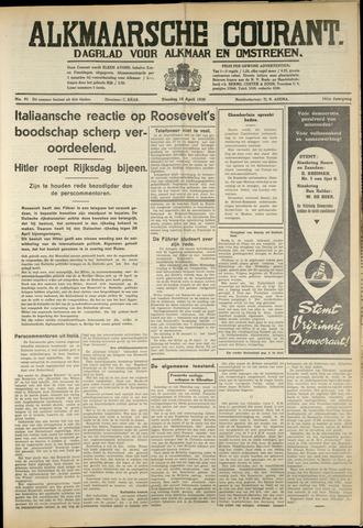 Alkmaarsche Courant 1939-04-18