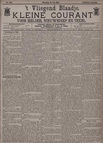 Vliegend blaadje : nieuws- en advertentiebode voor Den Helder 1890-07-23
