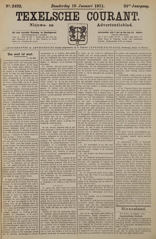 Texelsche Courant 1911-01-19