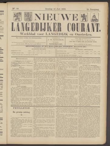 Nieuwe Langedijker Courant 1893-07-16