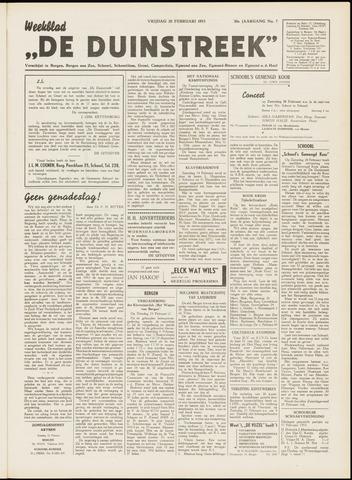 De Duinstreek 1953-02-20