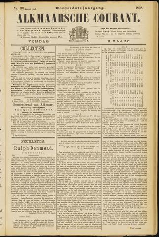 Alkmaarsche Courant 1898-03-11
