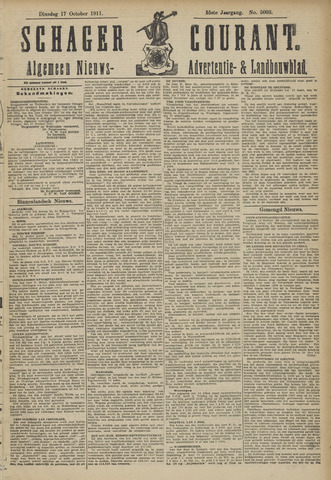 Schager Courant 1911-10-17