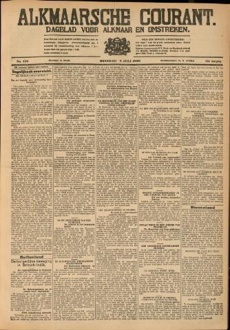 Alkmaarsche Courant 1930-07-08