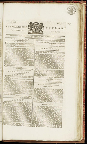Alkmaarsche Courant 1826-05-16