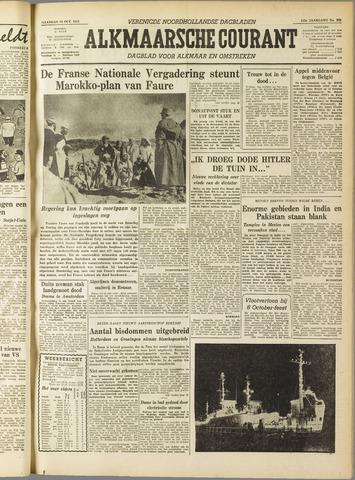 Alkmaarsche Courant 1955-10-10