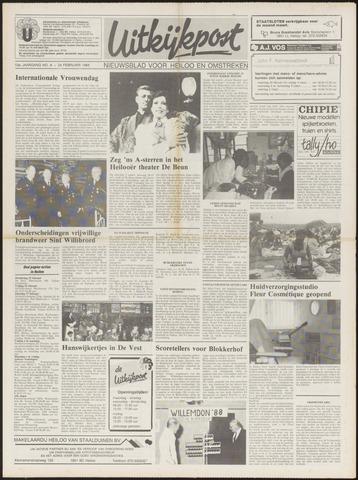 Uitkijkpost : nieuwsblad voor Heiloo e.o. 1988-02-24