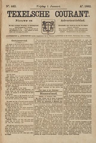 Texelsche Courant 1892